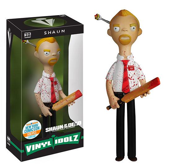 FUNKO VINYL IDOLZ 系列【活人甡吃。NYCC 限定】Shaun of the Dead 8 吋 濺血版