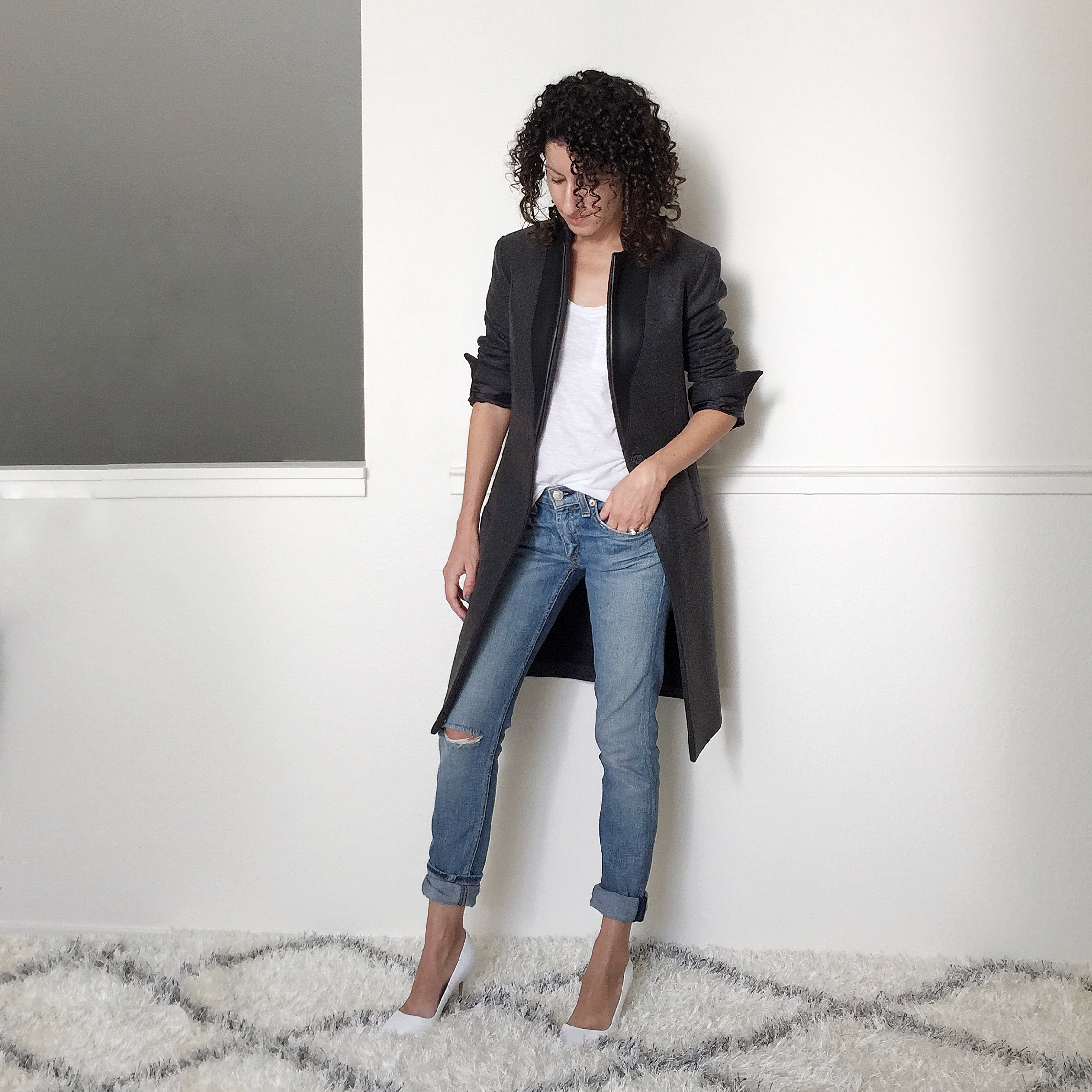 All Saints Coat & Leather Jacket For Petites – Fit Review Friday