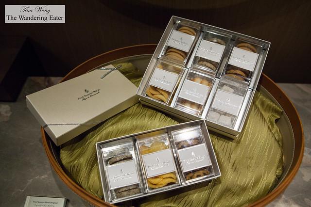 Four Seasons' gift boxes