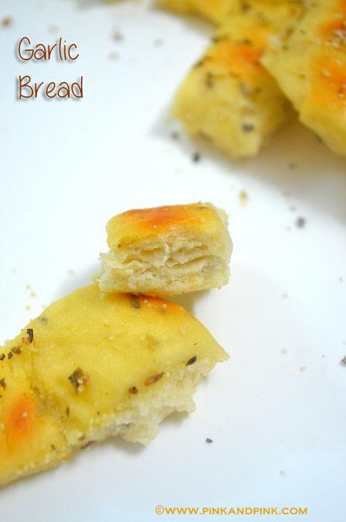 Garlic Bread Recipe - How to make Garlic bread at home