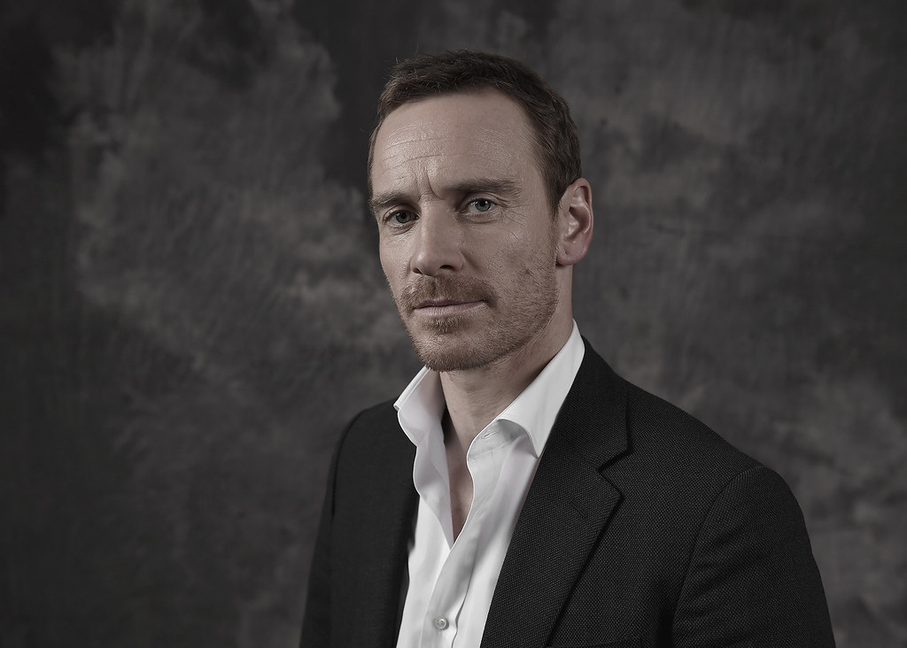 Майкл Фассбендер — Фотосессия для «Стив Джобс» на «BFI» 2015 – 4