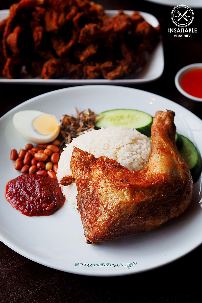Nasi Lemak, PappaRich Chatswood: Sydney Food Blog Review