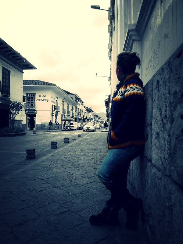Cuenca backpacker