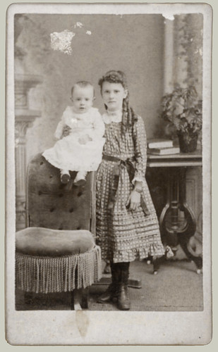 Two Children  CDV