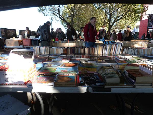 books under the bridge