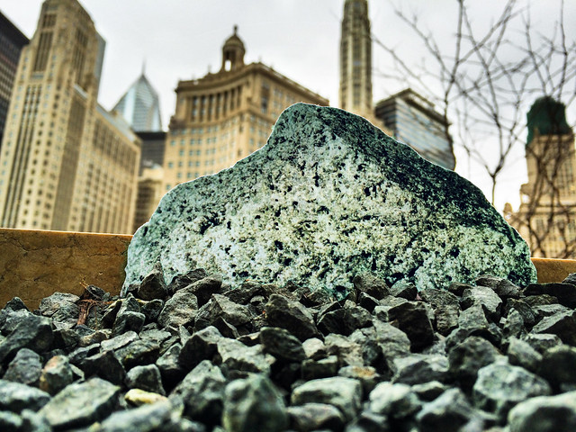 Moon rock 70017 found outside Trump Tower