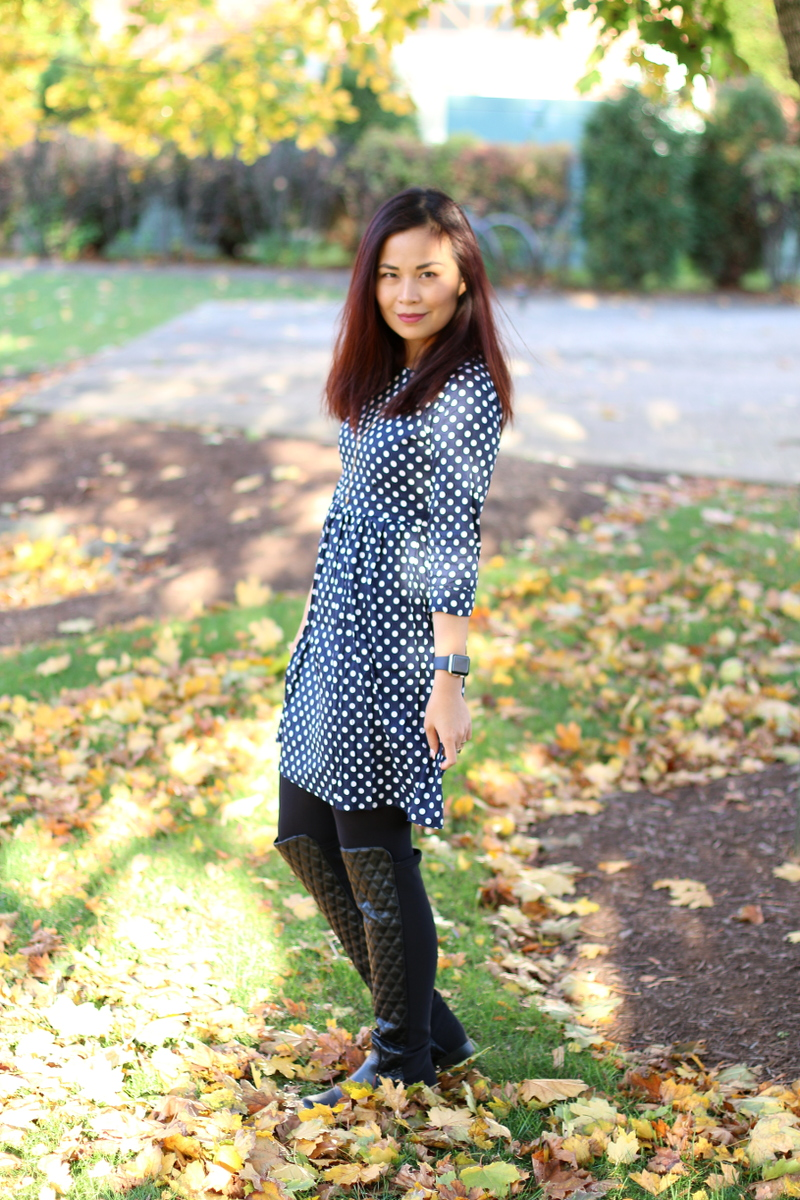Polka-Dot-Dress-Lucluc-shop-over-the-knee-boots-3