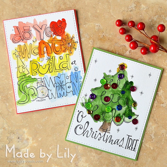 Lily's Christmas Cards
