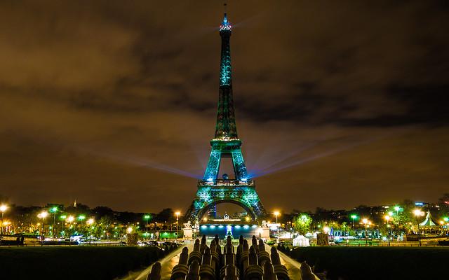 Eiffel Tower - COP 21