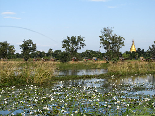 Inwala monastère Bagaya Kyaung