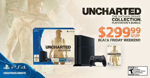 Black Friday 2015: Uncharted The Nathan Drake Collection Bundle