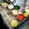 Chip toppings at @myhotchip this lunchtime at the farmers market