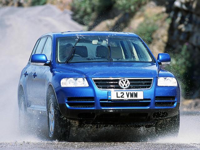 Volkswagen Touareg R5 TDI для рынка Британии. 2003 – 2007 годы