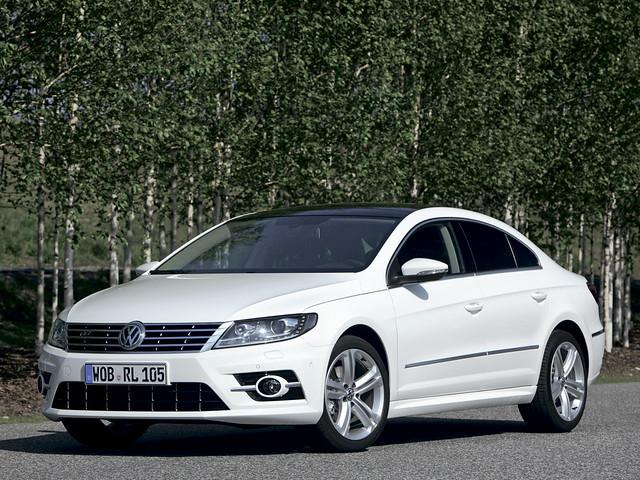 Купе-седан Volkswagen CC R-Line. 2012 год