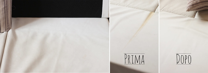 La mamma casalinga il divano bianco mammachevita - Pulire divano ecopelle ...