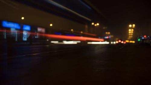 road street city light urban mist storm abstract black reflection window wet water lamp car rain weather yellow fog night dark outdoors lights shiny cityscape view traffic dusk sony foggy scene illuminated lanterns asphalt defocused 3514 distagon carlzeiss a7r ilce7r distagontfe1435