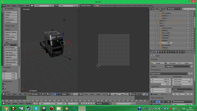 How to make Template with Blender ? - SCS Software
