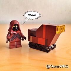 #LEGO #Utini #Jawa #Sandcrawler #Tatooine #LEGOstarWars #StarWars @starwars @lego_group @lego @bricknetwork @brickcentral