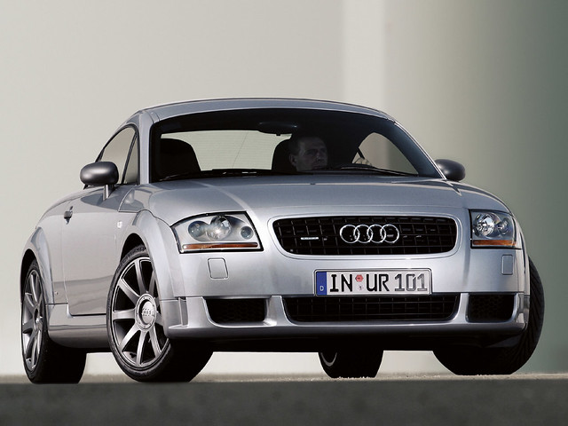 Первая Audi TT. 1998 год