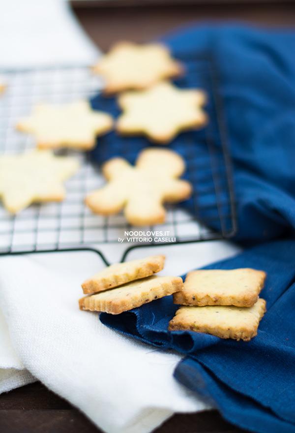Biscotti con frolla alle mandorle