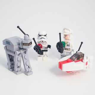 LEGO Star Wars Advent 2015 Days 17-18 Hoth Battle