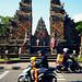 Bali 2015, Pura Puseh Temple Batuan, busy town temple 2 WM