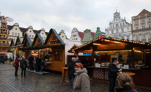 Christmas market in Rostock