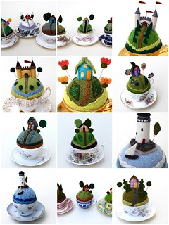 18 Tiny World pincushions- 2016