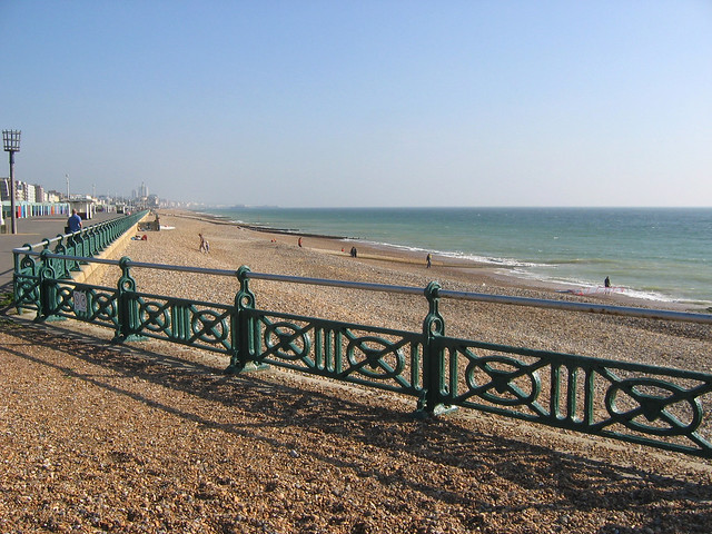 The promenade at Hove