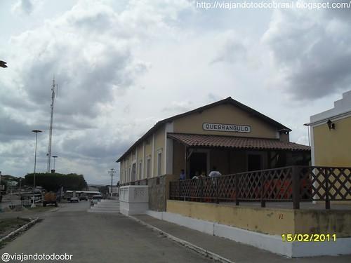 Quebrangulo - Estação Ferroviária