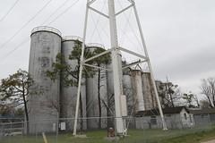 Crawfordsville Arkansas, Grain Elevator, Crittenden County AR