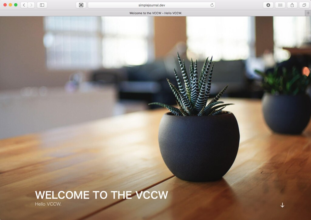 Welcome to the VCCW