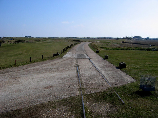 The former Rye and Camber tramway