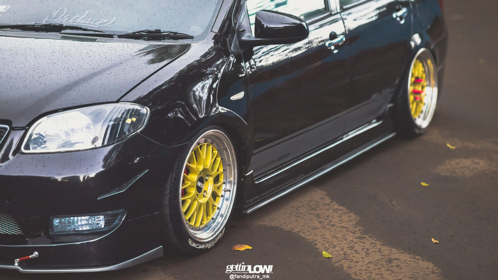 Bagged-Toyota-Vios-Black