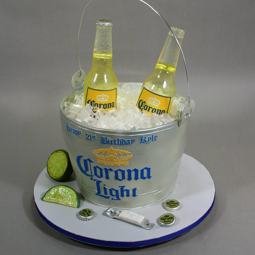 corona beer cake