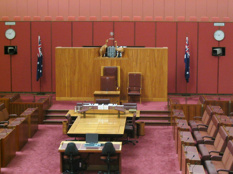 The Senate, Parliament House, Canberra, August 2005
