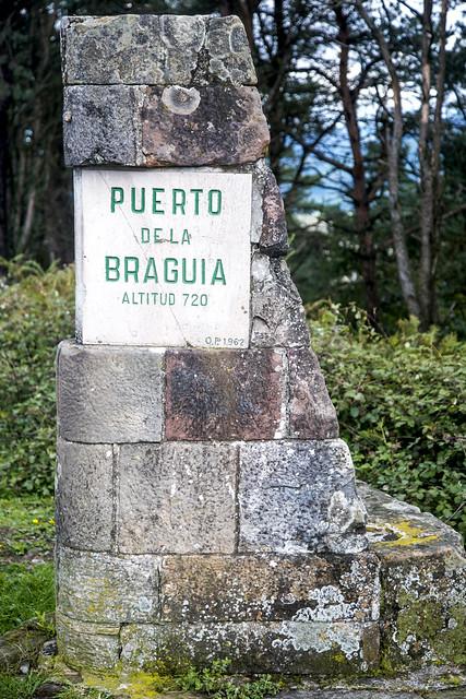 Subiendo a La Braguía