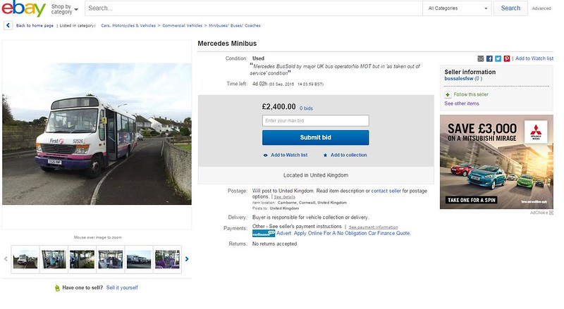 Mercedes Minibus - eBay
