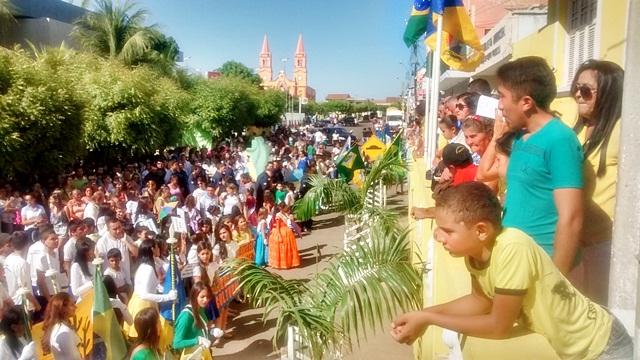 Desfile Cívico dia 7 de setembro