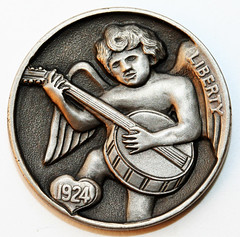 Steve Adams banjo hobo nickel 2