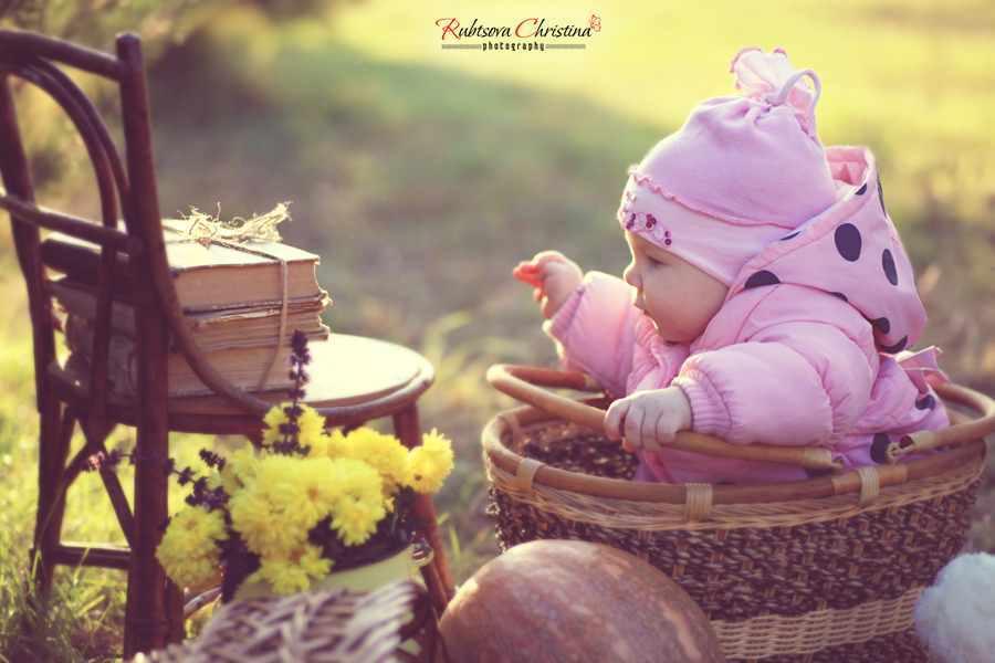 Фотосъёмка малышей от рождения до 1 года