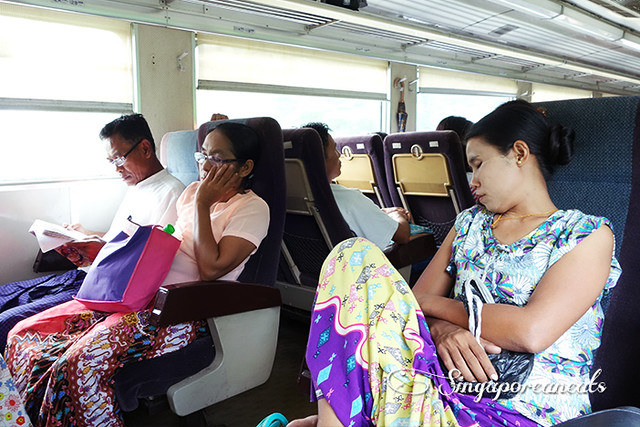 Yangon Circle Train 04 - Sleeping