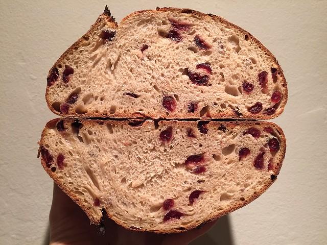 Lagunitas IPA/Cranberry Bread