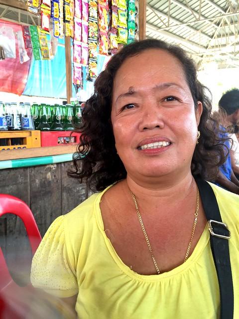 Bogo City market vendor Glenda O. Andrinof