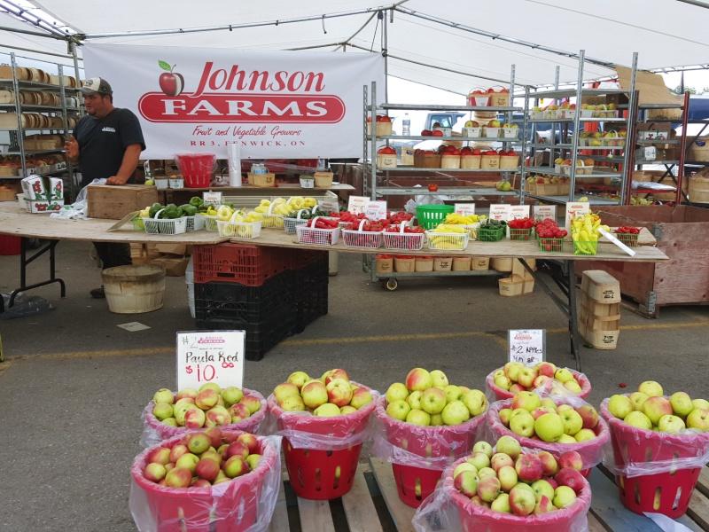 St. Jacobs farmer's market