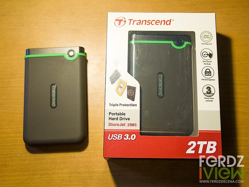Transcend StoreJet packaging