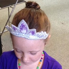 Rapunzel got a #bun too. #hair