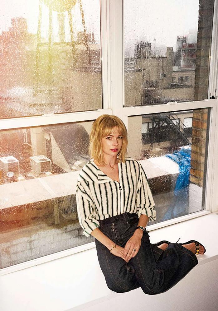 Мишель Уильямс — Фотосессия для «Elle» FR 2015 – 5