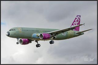 """A320-200 Peach """" JA817P (F-WWBZ) """" - sn 6824 / 3172"""