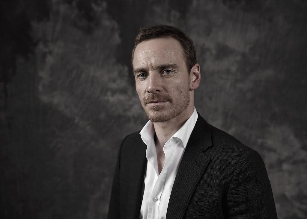 Майкл Фассбендер — Фотосессия для «Стив Джобс» на «BFI» 2015 – 5